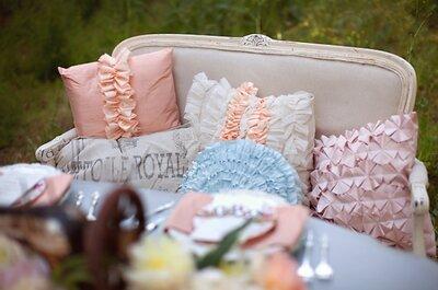 Decora tu boda con hermosos volantes: Las ideas más inspiradoras para darle a tu día un toque romántico