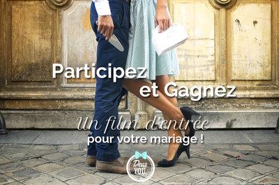 Jouez et gagnez votre film de mariage avec Dear You prod !