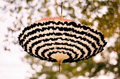 Sombrillas: un detalle para decorar y regalar en tu boda