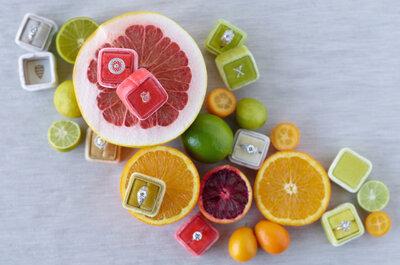 Todo tipo de frutas para los centros de mesa 2016: La tendencia más colorida y deliciosa