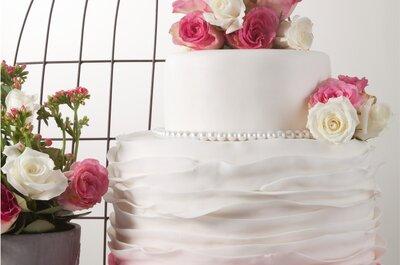 Las 9 mejores empresas de ponqués para matrimonio en Bogotá, que endulzarán tu boda