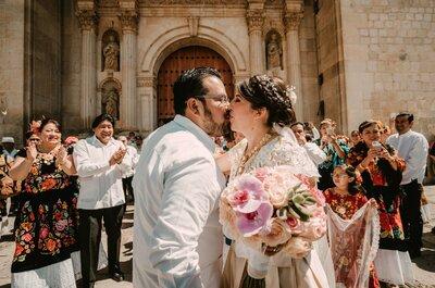 El mejor espectáculo de color: La boda de Karen y Pepe en Oaxaca