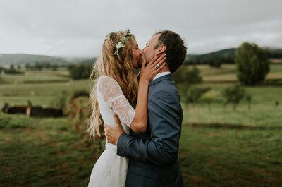 Chloé + Pierre-Antoine : Un mariage intime et éco-friendly dans la campagne bourguignone
