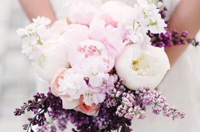 Las peonías: la flor más romántica para tu ramo de novia
