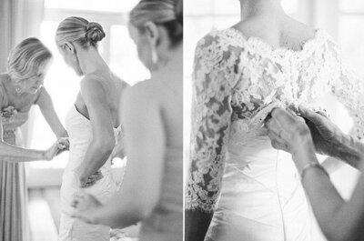 Das richtige Brautkleid für die Braut: 5 Brautkleider für 5 Figurtypen!