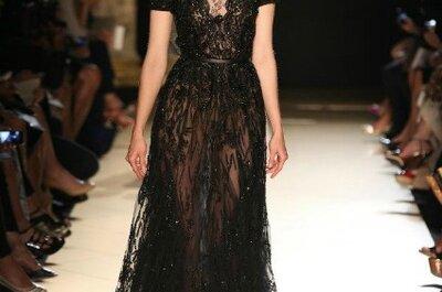 Elegantes vestidos de fiesta negros, los que nunca pasan de moda