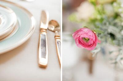 ¡Ésta puede ser tu boda! Inspírate en la suave estética del ballet para ese día especial