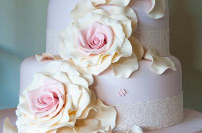 6 ideas para tu mesa de dulces y torta de bodas