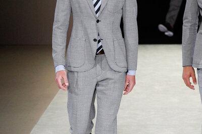 Tendencias masculinas para los novios del 2015
