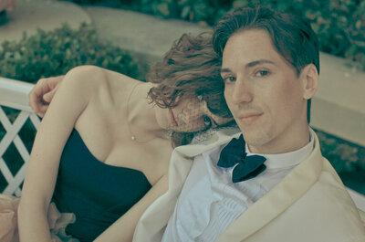 Mágica boda en Beverly Hills al estilo Old Hollywood