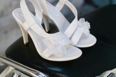 Moda 2013: lindos zapatos de novia