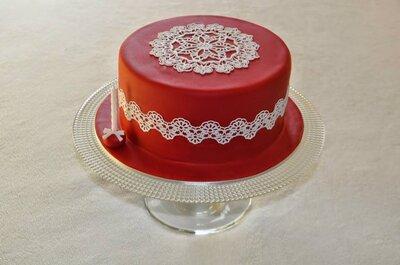 17 propostas de bolos de casamento românticos!
