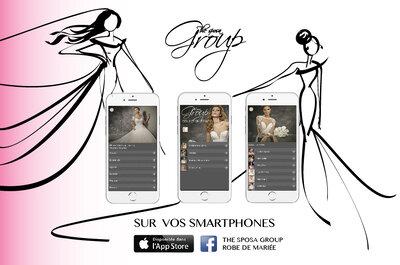 Retrouvez The Sposa Group sur votre smartphone et sur Facebook !