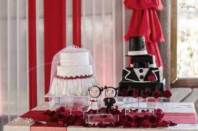 Tortas de boda originales. ¡Inspírate en estos sabrosos modelos!