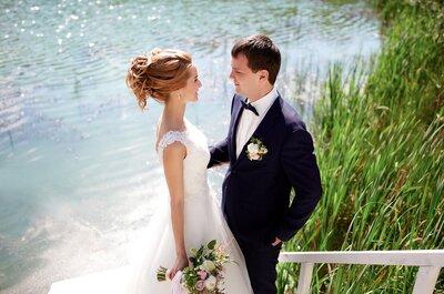 Единение с природой: Botanic wedding Ирины и Андрея