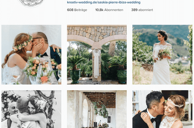 Was Brautpaare von Instagram lernen können! Und was nicht ...