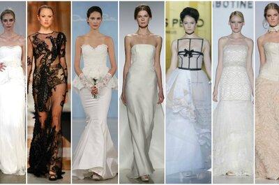 Suknie ślubne 2014 - najpiękniejsze kolekcje i nowe trendy