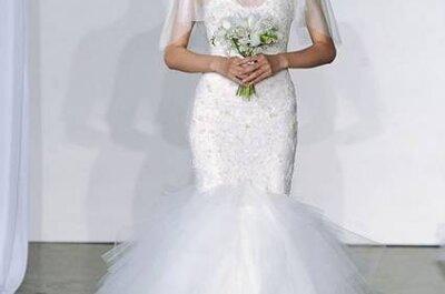 Vestidos de noiva Marchesa coleção Outono 2013