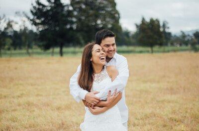 Cómo lograr que las fotos de tu boda sean naturales. Sigue estos consejos de expertos para que ¡la cámara se enamore de ti!