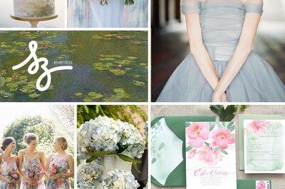 Cómo decorar una boda inspirada en un hermoso paisaje: Elementos naturales que enamoran