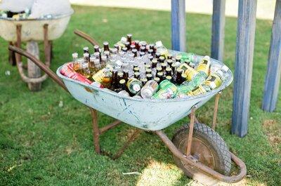 Sorprende a tus invitados con las nuevas tendencias de 2015 para el día de tu boda: Alimentos, bebidas y entretenimiento