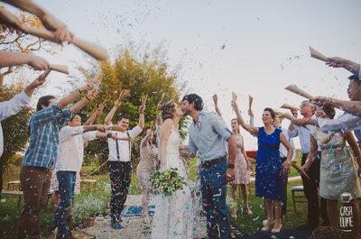 Mini wedding rústico de Ana Carolina e Samuel: um casamento romântico planejado a 4 mãos!