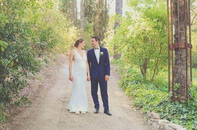 Compañeros de hockey y de vida: la boda de Santi y Berber