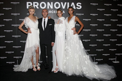 Adelanto de vestidos de novia 2013: desfile Pronovias