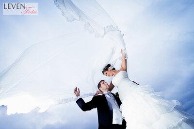 Obtén las fotografías más especiales para el día de tu boda con Leven Foto