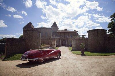 Les 10 plus beaux Châteaux de mariage dans le Rhône