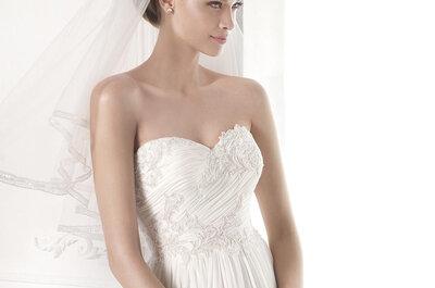 Robes de mariée Pronovias 2015, les plus beaux décolletés en coeur