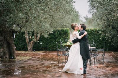 Alessandro ed Olimpia: un matrimonio country tra gli ulivi abruzzesi