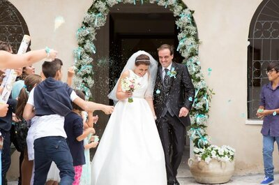 Mr&Mrs D'Amico: il matrimonio color Tiffany di Silvia e Luca