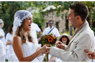 Cómo hacer una boda hippie. ¡Deja volar tu imaginación!