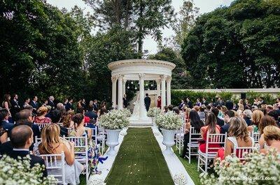 Casamento de Sarah & Marcos: sofisticação e romantismo no Palácio dos Cedros