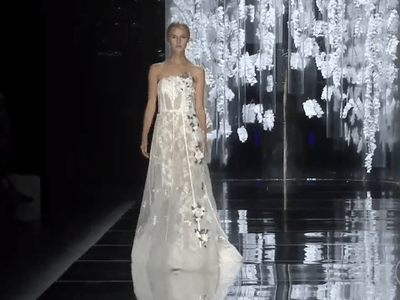 YolanCris Spring 2016 Bridal Collection Catwalk Barcelona Bridal Week