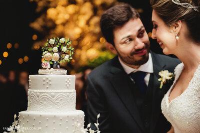 Casamento Dani e Fabio: sofisticação e elegância na Galeria Jardim