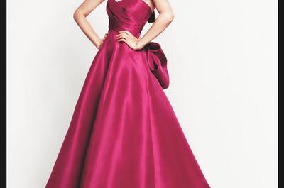 Vestidos de fiesta 2014 de Monique Lhuillier colección Crucero