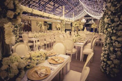 Cómo elegir los colores para decorar tu boda. ¡Descubre cuáles son los más apropiados!
