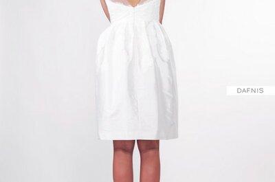 Krótkie suknie ślubne by Anna Kara 2013