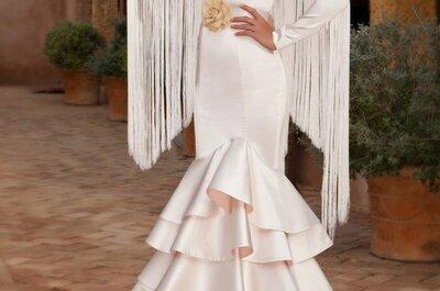 Vestidos de novia flamencos para la Feria de Abril