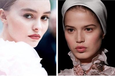 Les meilleurs looks beauté de la Fashion Week 2017 de Paris