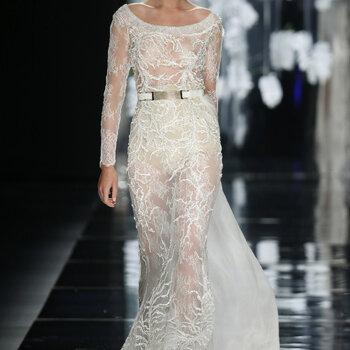 Eleganckie i wyrafinowane suknie ślubne z dekoltem w łódkę 2016!!! Nie przegap!!!
