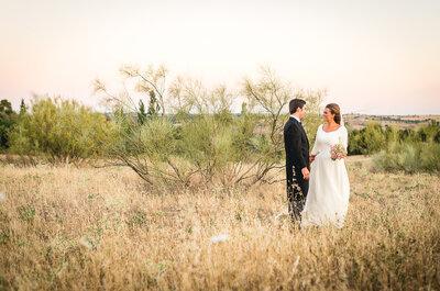 Cierro los ojos y lo vuelvo a imaginar: la boda de Macarena y Antonio