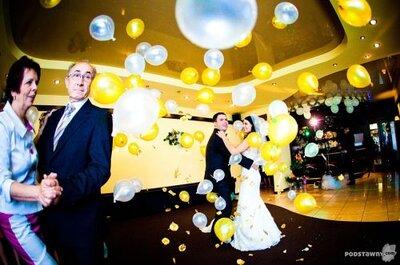 Ślubne dekoracje z balonów - 5 propozycji Zankyou