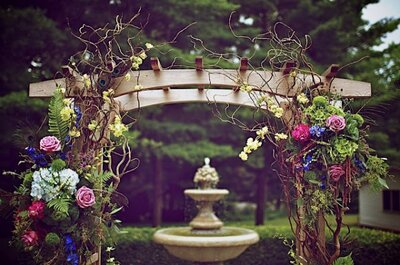 Romantic, magical and unique altars for your religious ceremony