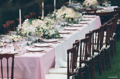 Roberta e Luiz: uma festa de noivado elegante, romântica e muito inspiradora!