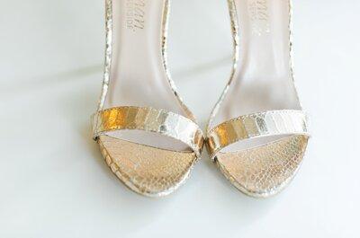 Sapatos rasos? Porque não? 5 razões para os escolherem para o dia do vosso casamento!