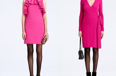 Vestidos en color rosa para San Valentín