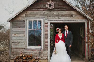 Celebramos la Navidad con detalles ideales para una boda de invierno